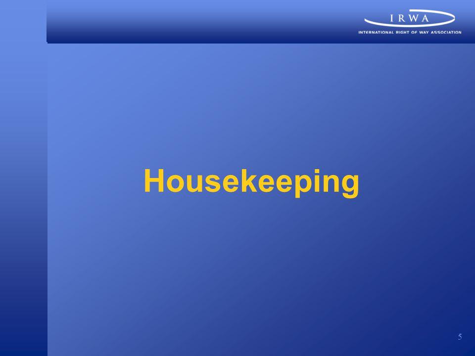5 Housekeeping