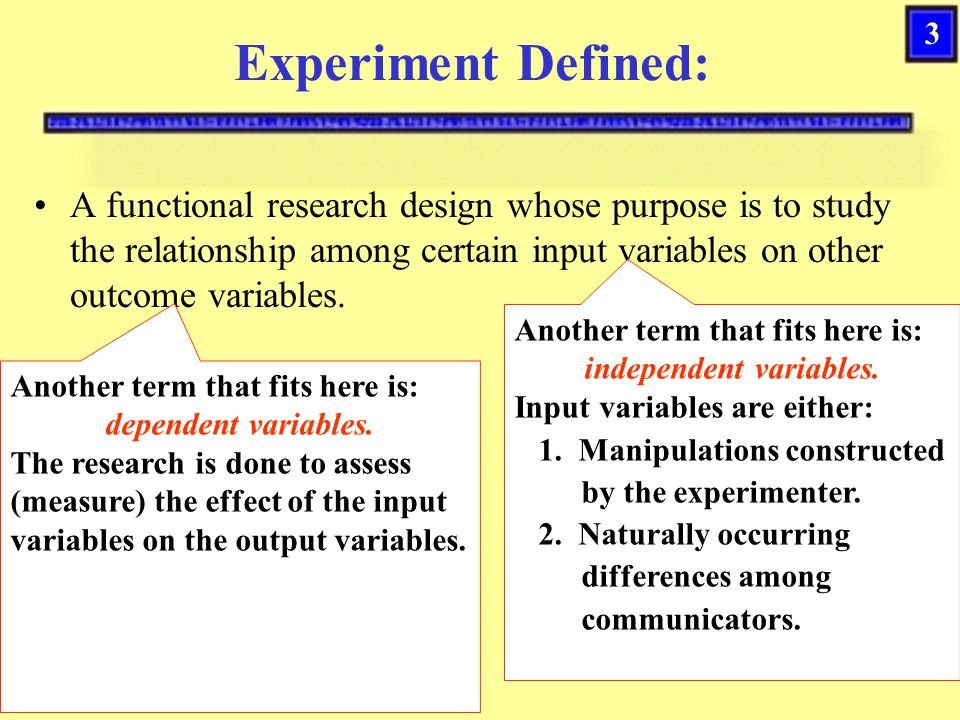 23 Threats to Internal Experimental Validity Maturation Changes that occur naturally over time (including fatigue or suspicion) even if subjects are left alone.