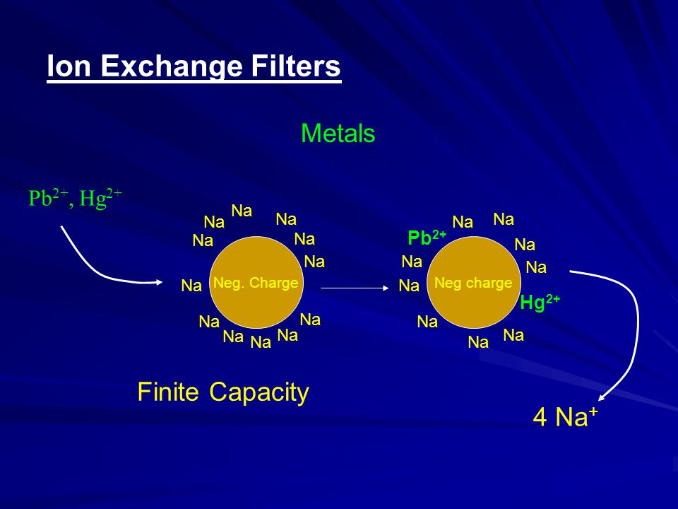 Ion Exchange Filters Neg.
