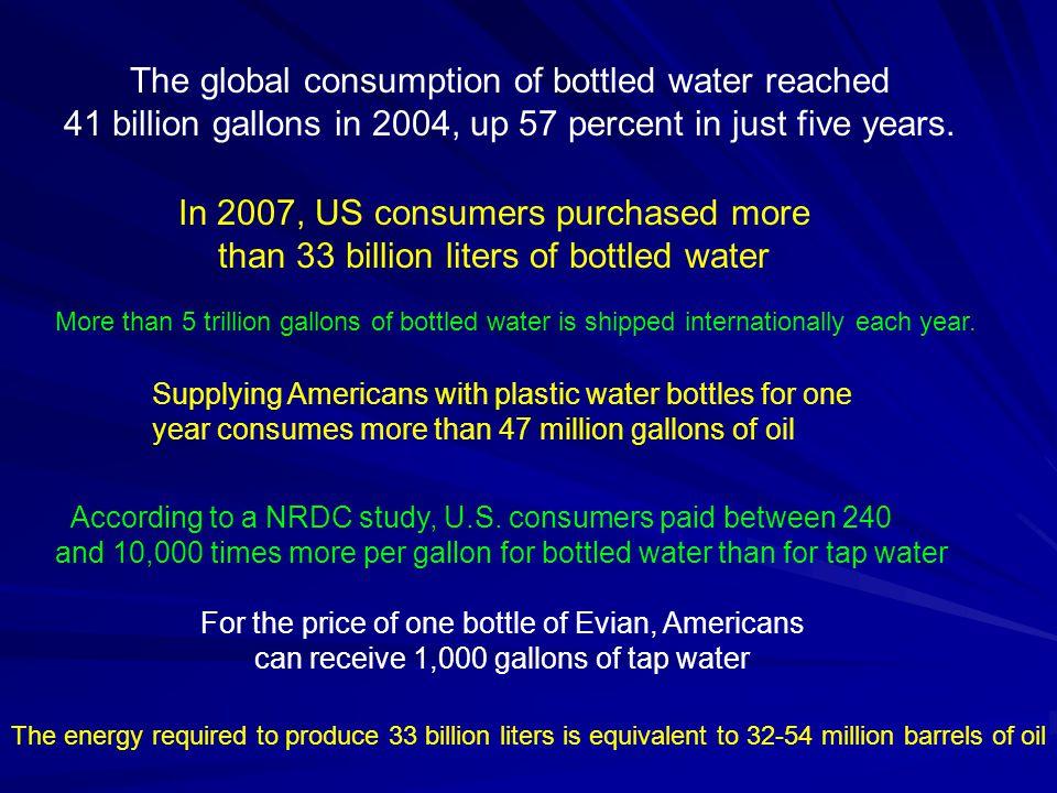 According to a NRDC study, U.S.