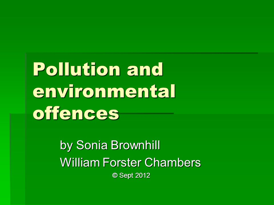 MMA – Environmental harm offences 2 nd element: causes environmental harm environmental harm : environmental harm : –(a) any harm to or adverse effect on the environment; or –(b) any potential harm (including the risk of harm and future harm) to or potential adverse effect on the environment, –of any degree or duration and includes environmental nuisance environment : land, air, water, organisms and ecosystems on a mining site, including: (a) the well-being of humans; (b) structures made or modified by humans; (c) the amenity values of an area; and (d) economic, cultural and social conditions environment : land, air, water, organisms and ecosystems on a mining site, including: (a) the well-being of humans; (b) structures made or modified by humans; (c) the amenity values of an area; and (d) economic, cultural and social conditions