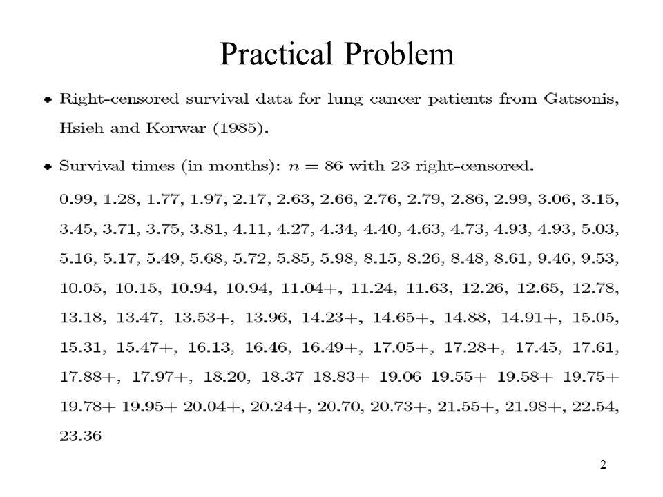 2 Practical Problem