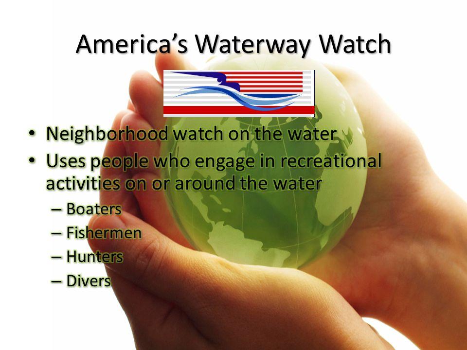 America's Waterway Watch
