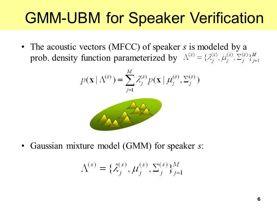 37 Results EER and MinDCF vs. No. of Target-Speaker Supervectors NIST'02