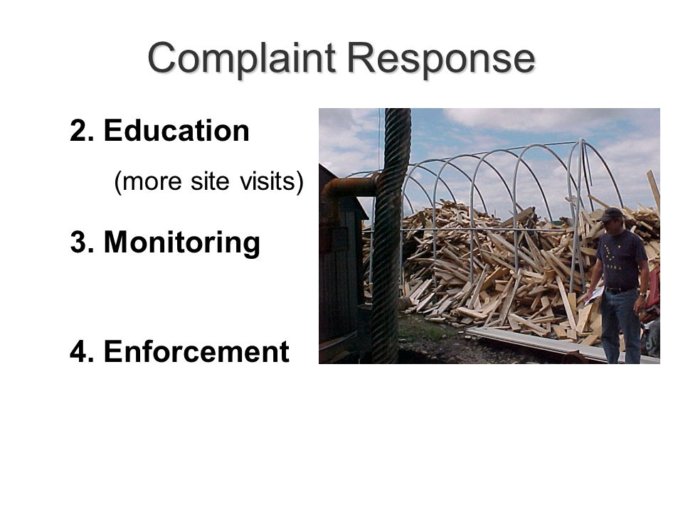 Number of OWB Complaints Total = 125