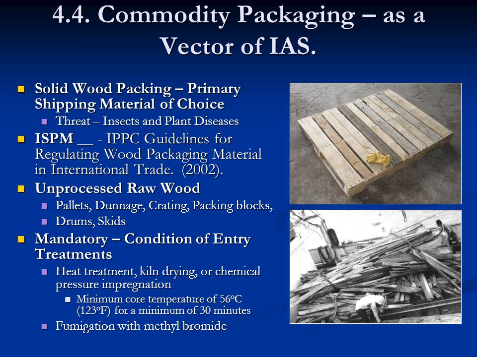 4.4. Commodity Packaging – as a Vector of IAS.