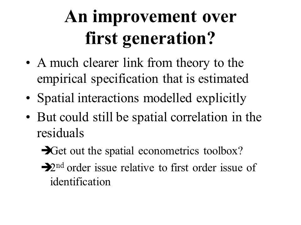An improvement over first generation.