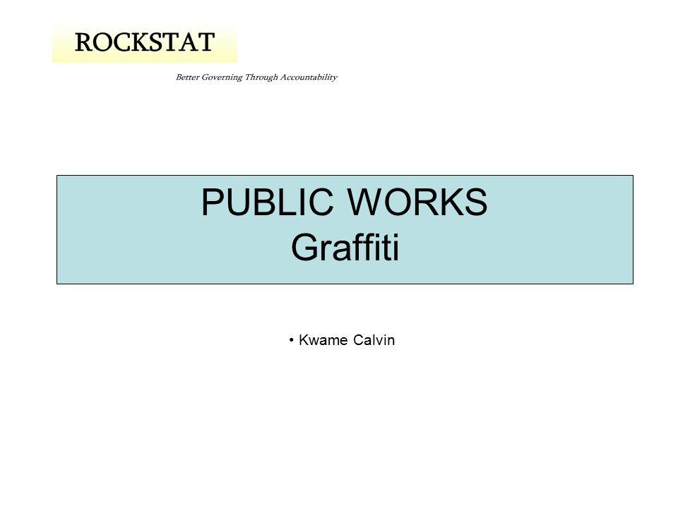 PUBLIC WORKS Graffiti Kwame Calvin