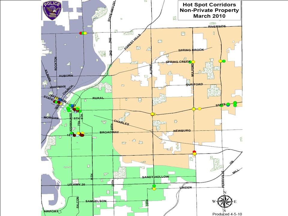Measure: City School Incidents, CFS, and Arrests