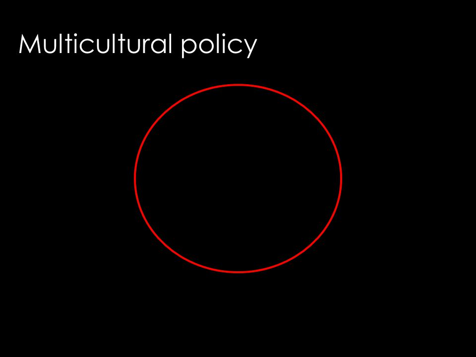 Multicultural policy