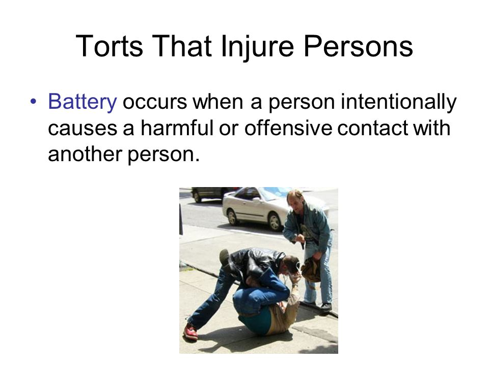 Defenses to Intentional Torts Defense of property allows people to use reasonable force to defend their homes or property