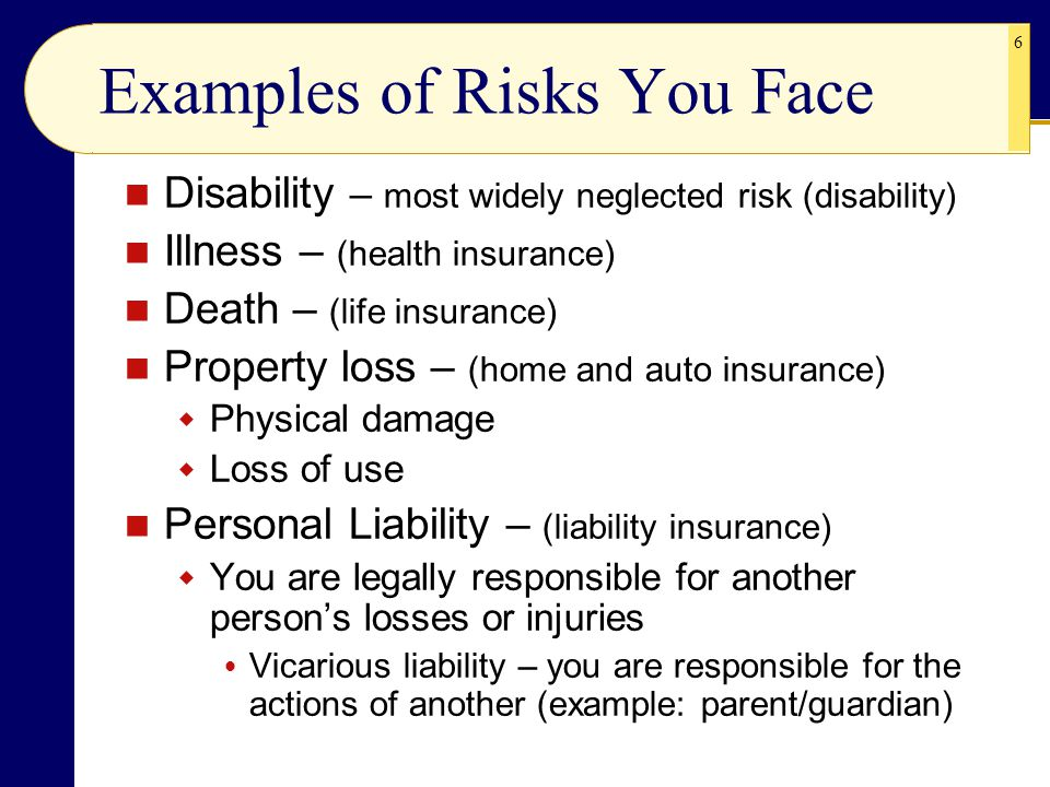 27 Motor Vehicle Liability Coverage Handout bodily injury liability property damage liability