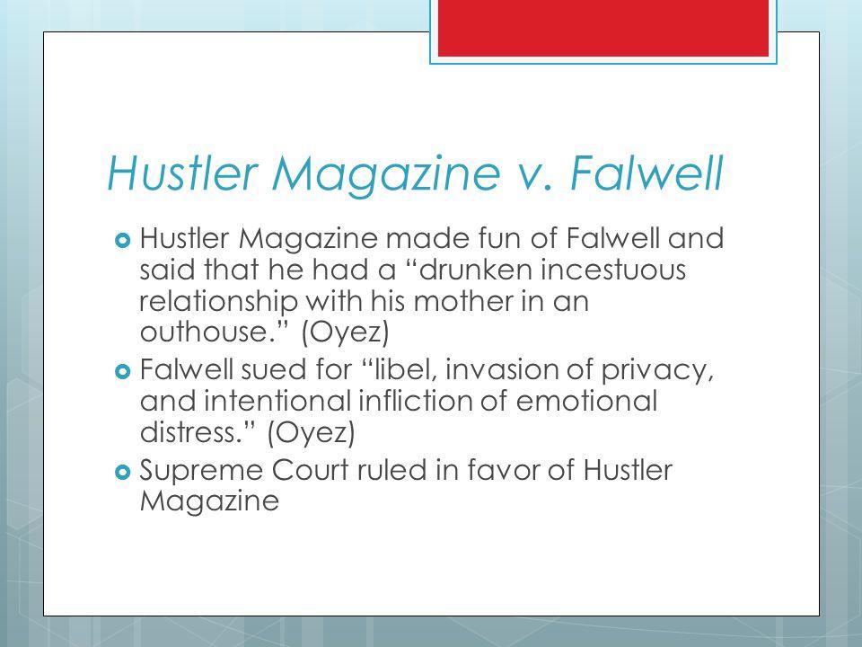 Hustler Magazine v.