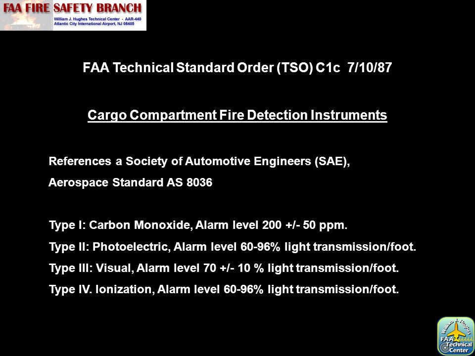 FAA Advisory Circular 25-9A Smoke Detection, Penetration, and Evacuation Tests and Related Flight Manual Emergency Procedures.