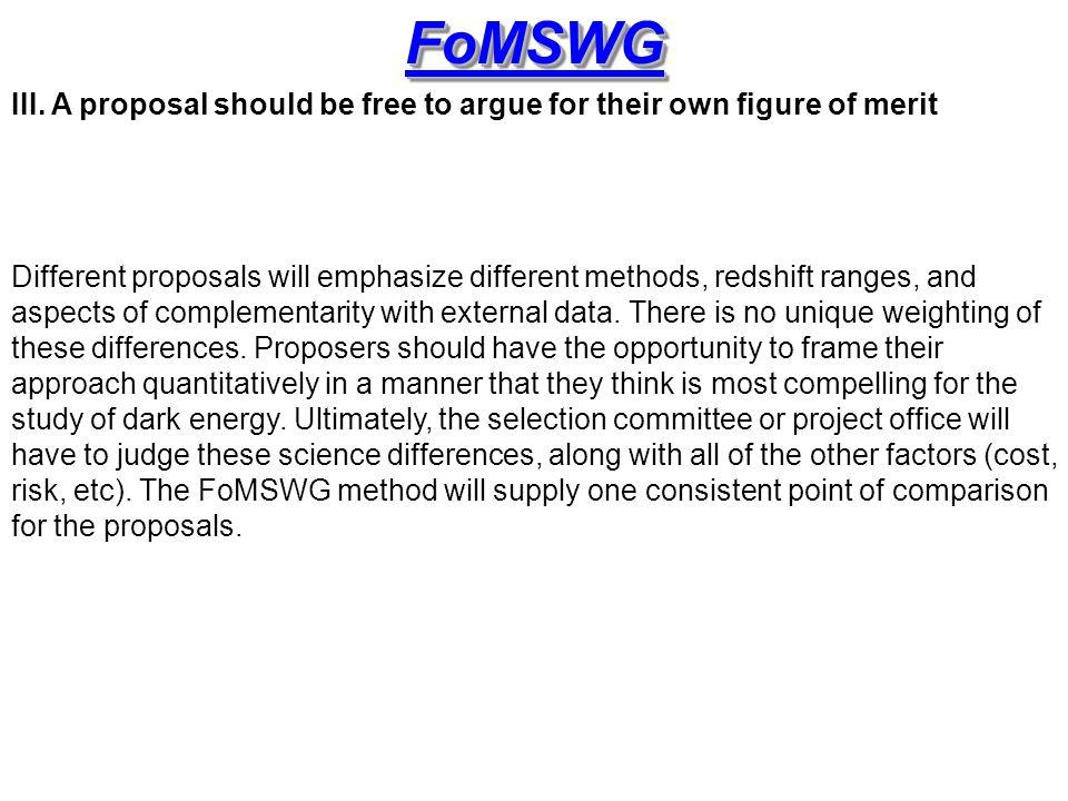 FoMSWGFoMSWG III.