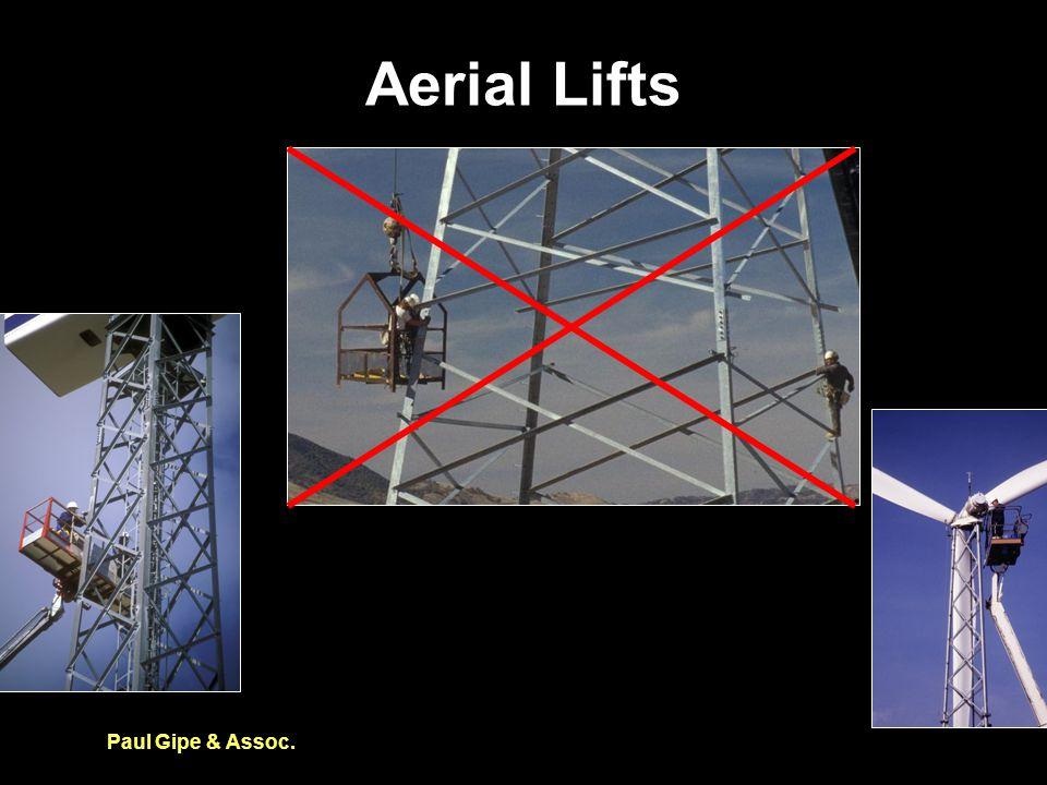Aerial Lifts Paul Gipe & Assoc.