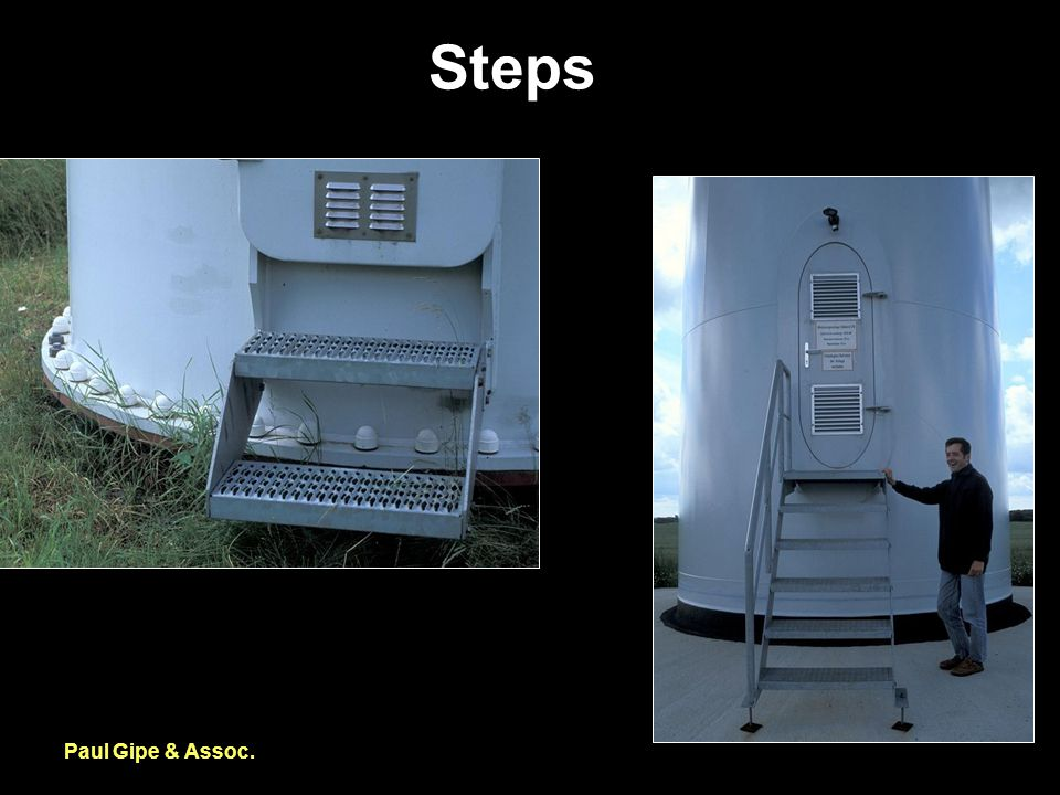 Steps Paul Gipe & Assoc.