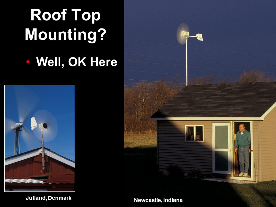 Roof Top Mounting? Newcastle, Indiana Well, OK Here Jutland, Denmark