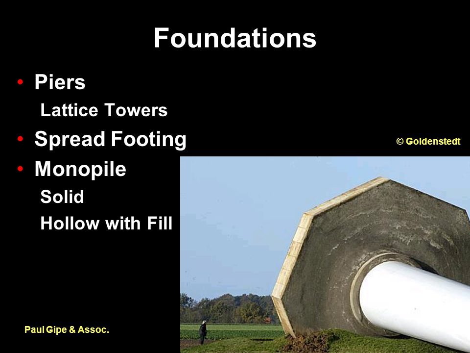 Foundations Paul Gipe & Assoc.