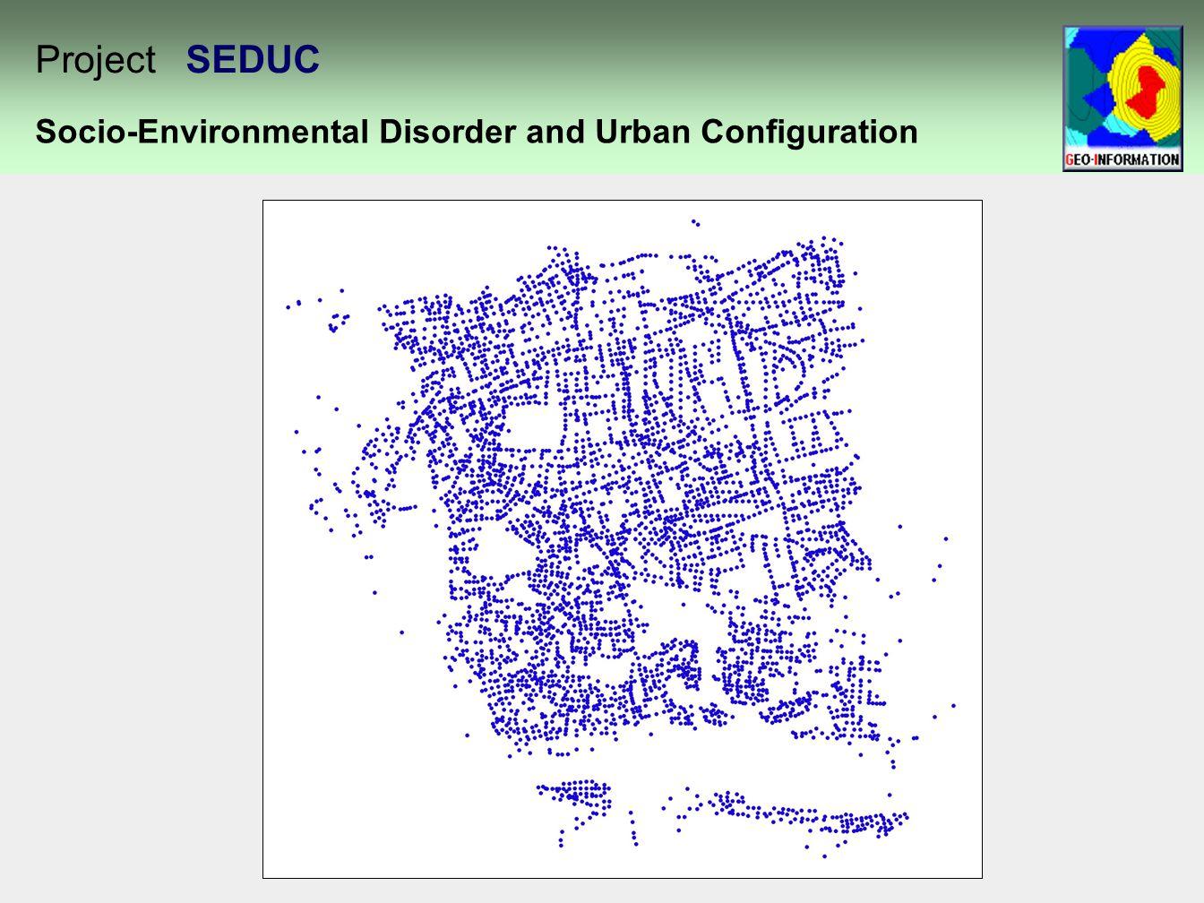 Socio-Environmental Disorder and Urban Configuration Project SEDUC
