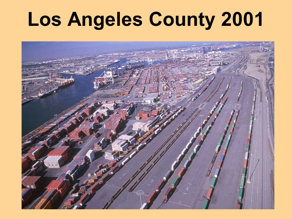 Los Angeles County 2001