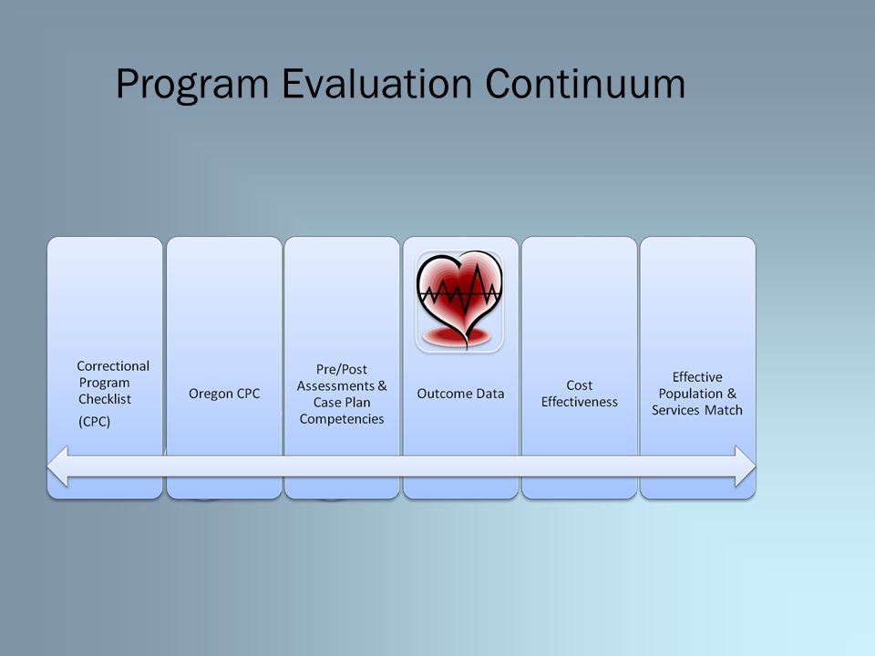 Program Evaluation Continuum