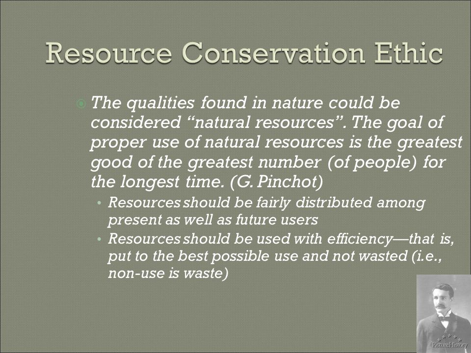  The most important goal of land management is to maintain the health of ecosystems and ecological processes.
