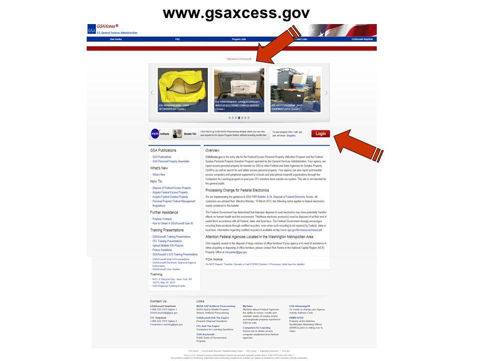 www.gsaxcess.gov