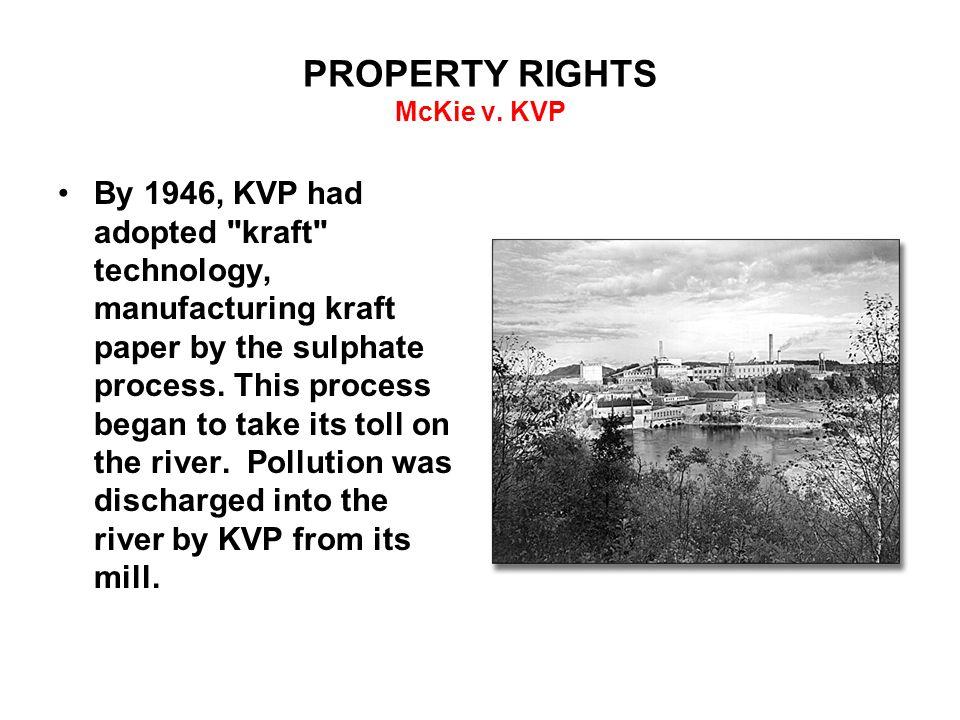 PROPERTY RIGHTS McKie v.