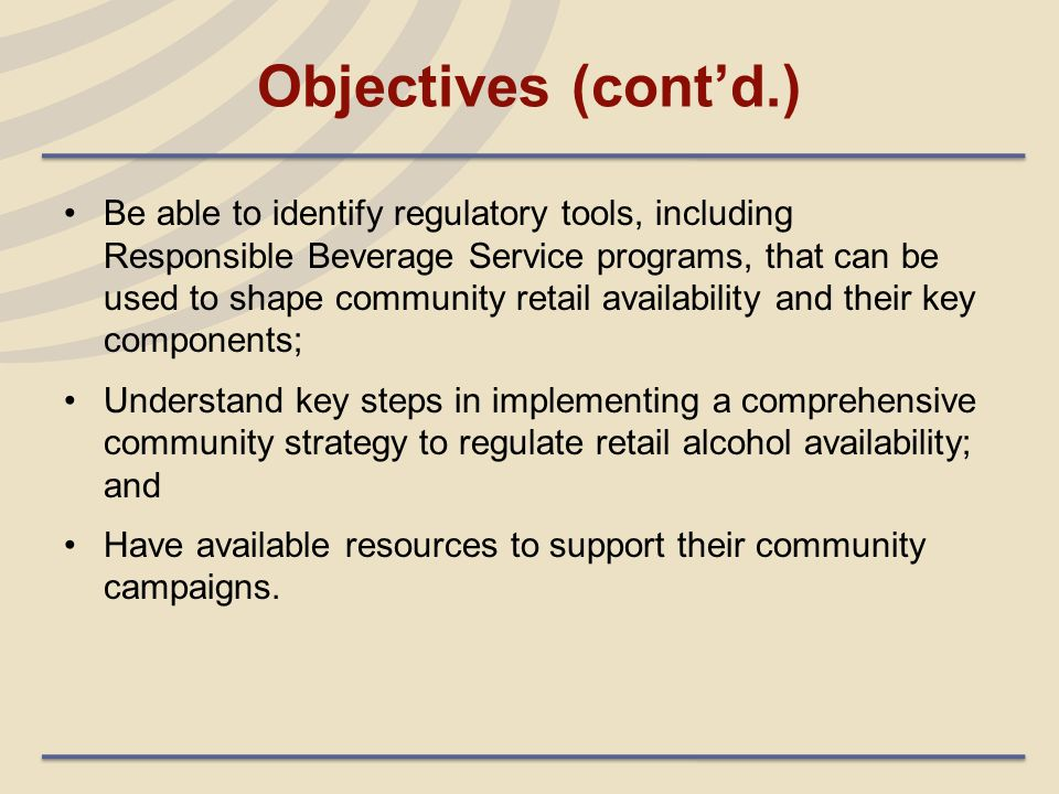 The State Preemption Doctrine: A Potential Barrier to Local Action Some States preempt or limit the ability of local governments to regulate community alcohol availability through CUPs, DAOs, and fees.