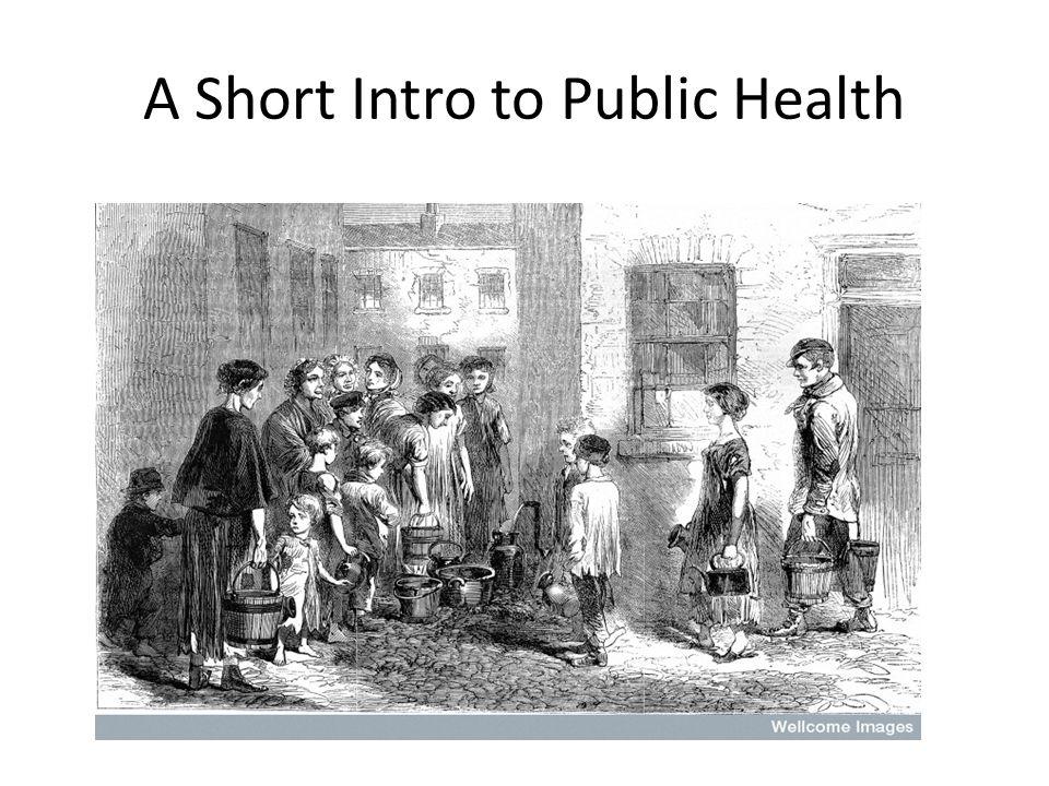 A Short Intro to Public Health
