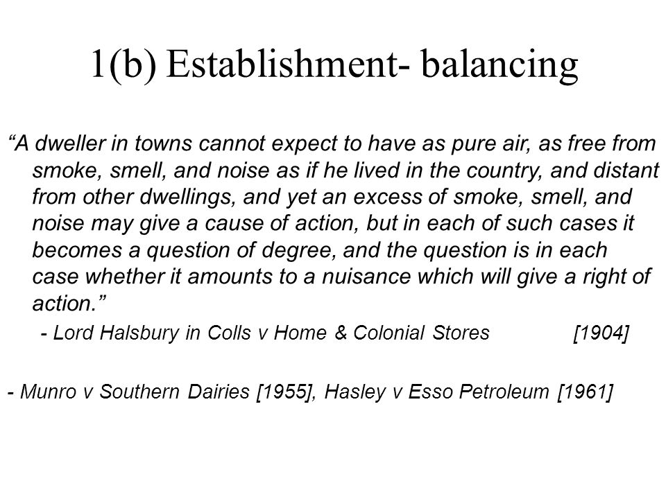 """""""A dweller in towns cannot expect to have as pure air, as free from smoke, smell, and noise as if he lived in the country, and distant from other dwel"""