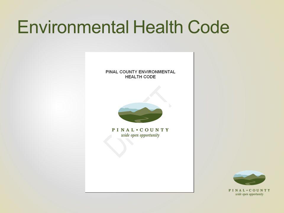 Environmental Health Code
