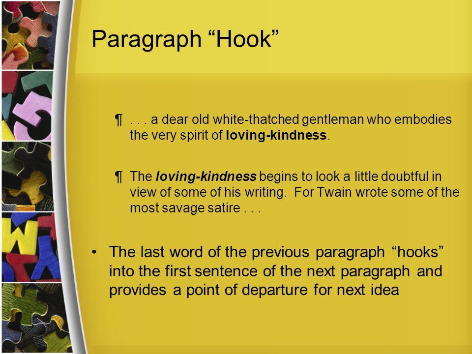 Paragraph Hook ¶...