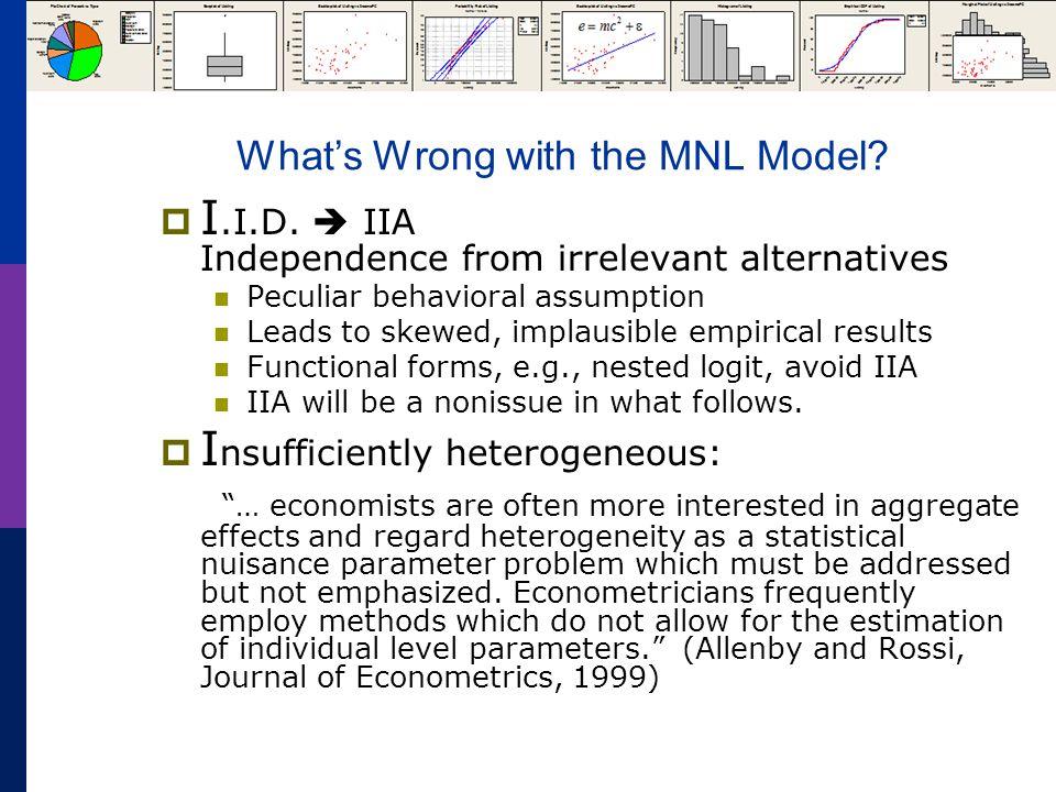 Estimates of a Nested Logit Model NLOGIT ; Lhs=mode ; Rhs=gc,ttme,invt,invc ; Rh2=one,hinc ; Choices=air,train,bus,car ; Tree=Travel[Private(Air,Car), Public(Train,Bus)] ; Show tree ; Effects: invc(*) ; Describe ; RU1 $ Selects branch normalization