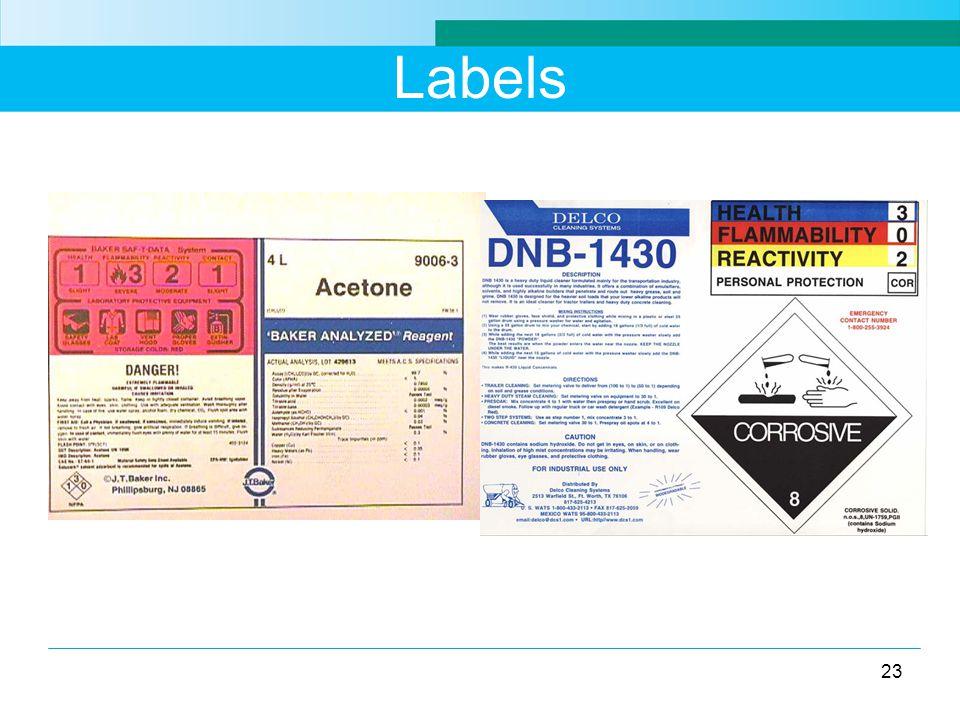 Labels 23