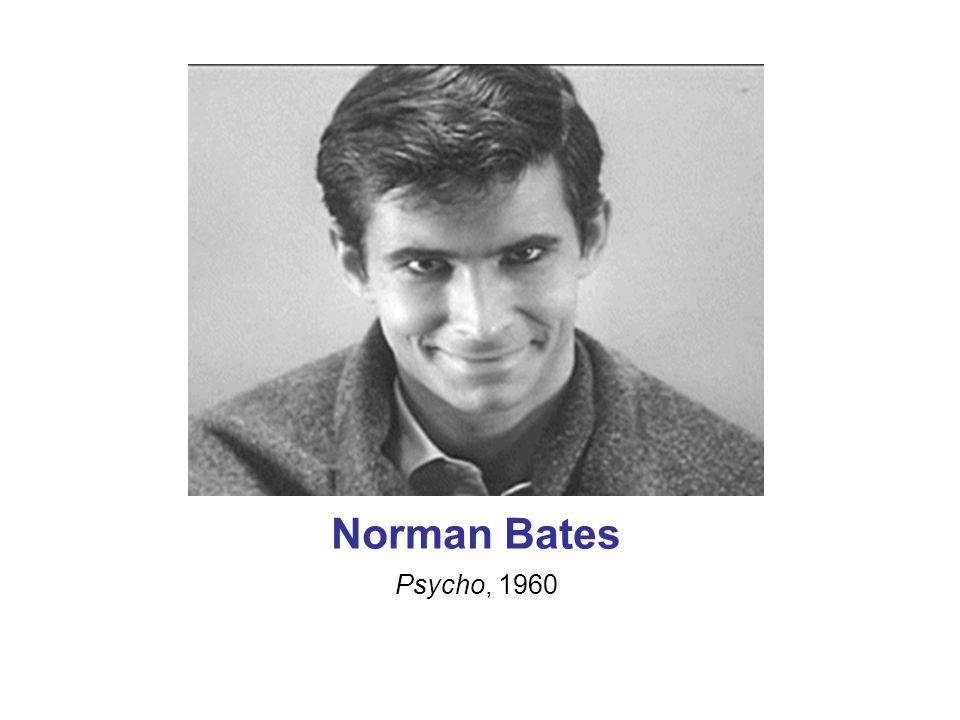 Norman Bates Psycho, 1960