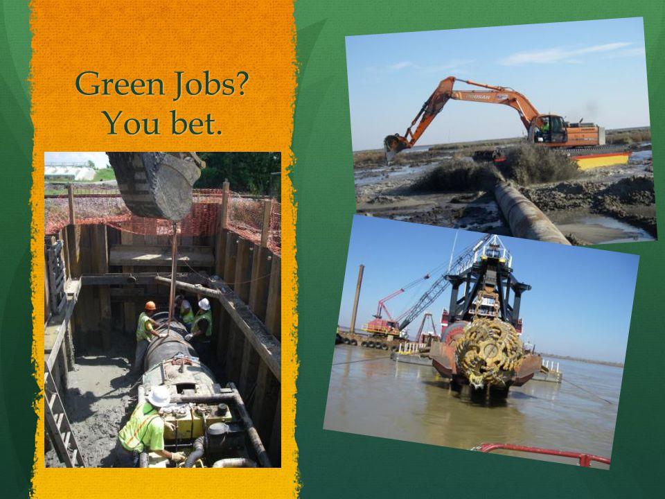 Green Jobs You bet.