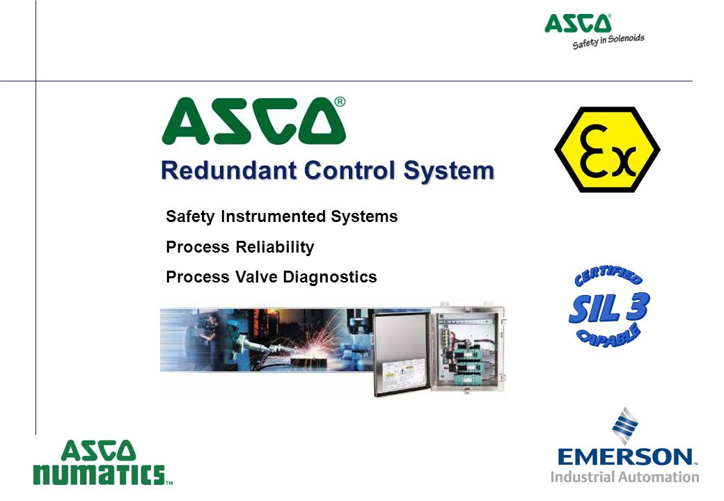 Redundant Control System Safety Instrumented Systems Process Reliability Process Valve Diagnostics