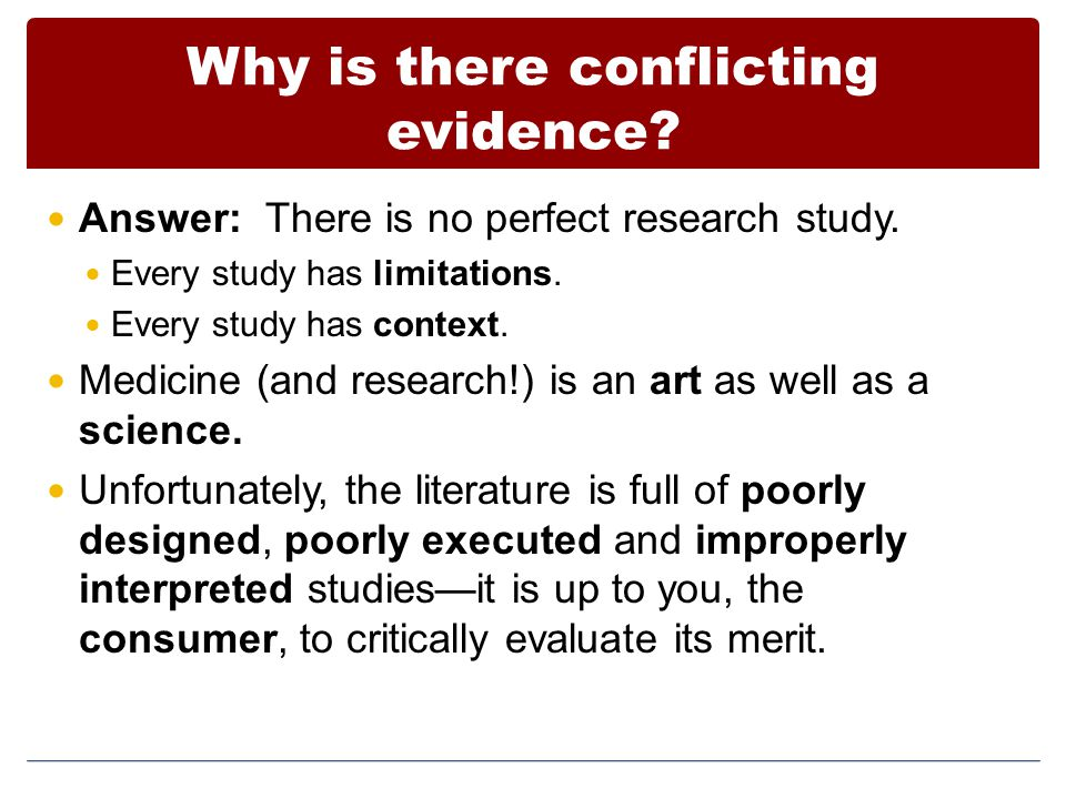 Summary Statistics plays a key role in pre-clinical and clinical research Statistics helps us determine how 'confident' we should be in the results of a study Confidence in a study is based on (1) the size of the study, (2) its safeguards against biases (complexity), (3) how it was actually undertaken Statistical support is available and should be sought out as early as possible in the process of designing a study