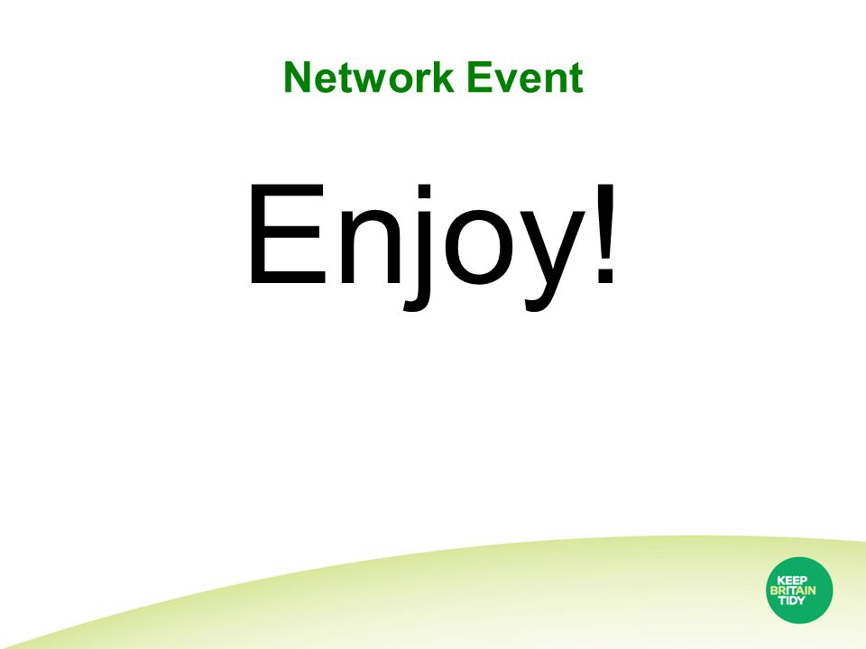 Network Event Enjoy!