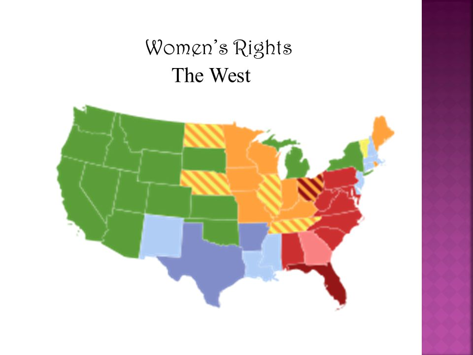 Women's Rights The West