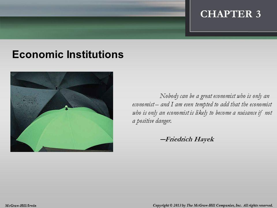1 Economic Institutions 3 3-2 Economic Systems The U.S.