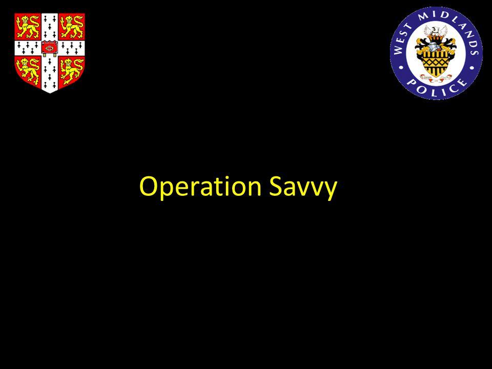 Operation Savvy