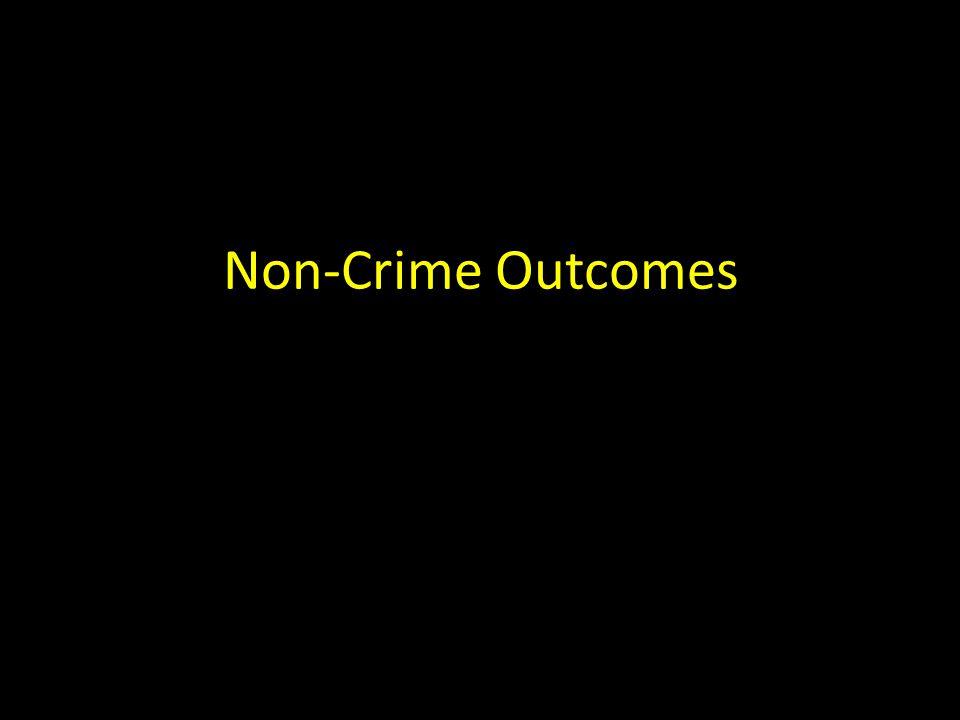 Non-Crime Outcomes