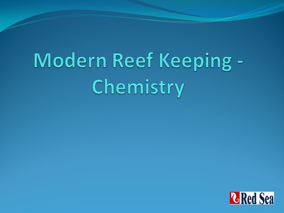 Optimal water parameters for reef keeping Life support Temperature Oxygen Salinity pH/Alk Introduction to skeletogenesis Ca, Alk, Mg Typical syndromes in aquarium Secondary elements K, I, Sr, Fe Nutrients, Pollutants & Algae PO4 / NO3 /SiO4 Sources Typical algae in reef tank Modern reef keeping