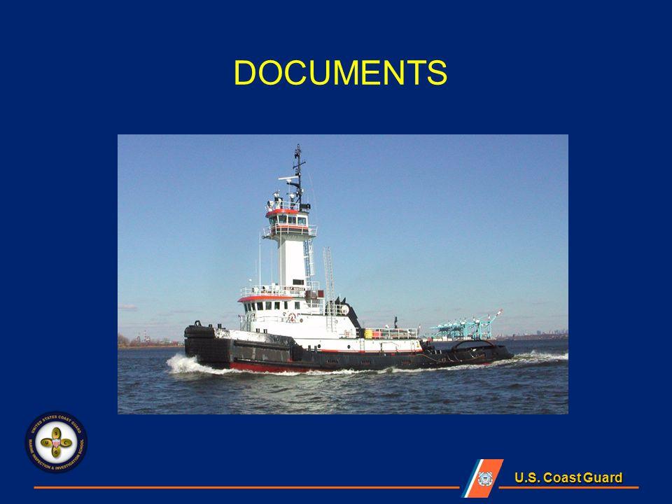 U.S. Coast Guard DOCUMENTS