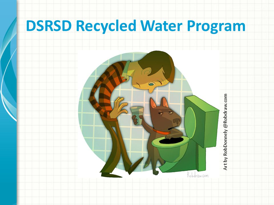 DSRSD Recycled Water Program Art by RobDonnely @Robdraw.com