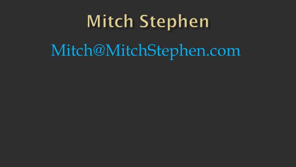 Mitch@MitchStephen.com