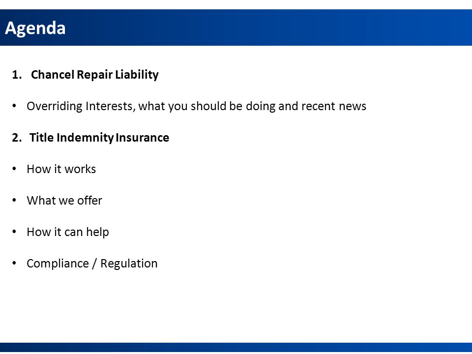 Title Insurance – Self Issue Online or Offline.